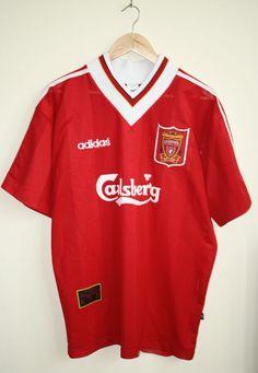 Adidas Carlsberg Liverpool Footbal Sportwear Mens Tshirt Size XL 100% Polyester