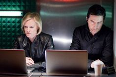 Spooks - Ros Myers (Hermione Norris) and Lucas North (Richard Armitage) #Season8