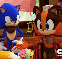Even Sonic's With You - Sonic Boom Episode 27 Chez Amy