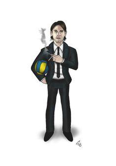 Lukasz Kadziewicz caricature (photo: Lukasz Stanek) #volleyball #caricature #art
