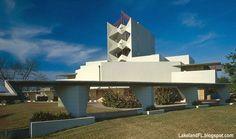 FLORIDA SOUTHERN COLLEGE,  Annie Pfeiffer Chapel,First Frank Lloyd Wright building,begun 1938