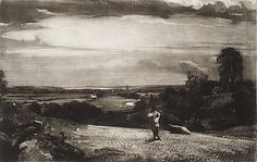 """David Lucas (British, 1802–1881). Summer Morning, ca. 1830. The Metropolitan Museum of Art, New York. Harris Brisbane Dick Fund, 1939 (39.68.27) 