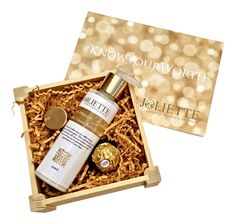 Joliette Small Gift Set: Coffee Cream Body Scrub £20