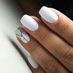 The advantage of the gel is that it allows you to enjoy your French manicure for a long time. There are four different ways to make a French manicure on gel nails. Spring Nail Art, Nail Designs Spring, Simple Nail Designs, Spring Nails, Nail Art Designs, Glitter Gel Nails, Gold Nails, My Nails, White Nail Art