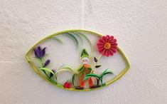 Quilling Gartenzwerg Preis 14 € Maße: 17,5 x 11,5 cm Quilling, Wreaths, Decor, Art, Random Stuff, Bedspreads, Art Background, Decoration, Door Wreaths