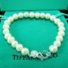 tiffany pearl bracelet