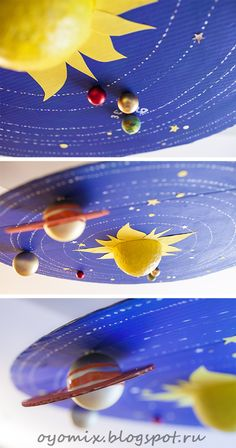 Solar System Project Ideas For Kids Space Projects, Science Projects, School Projects, Projects To Try, Space Crafts For Kids, Crafts To Do, Art For Kids, Kids Crafts, Earth Sun And Moon