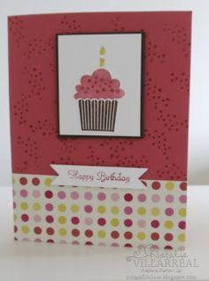 Create a cupcake birthday- Stampin up