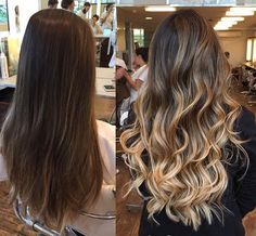 Projeto Along Hair Brown Hair Balayage, Brown Blonde Hair, Hair Color Balayage, Brunette Hair, Hair Highlights, Boliage Hair, Cabelo Ombre Hair, Gorgeous Hair, Beautiful