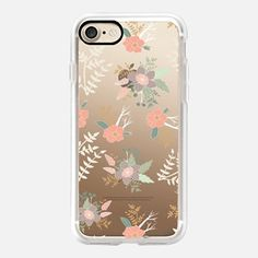 iPhone 7 Case Princess Swan Floral