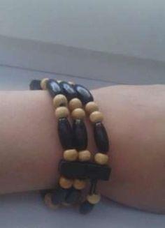 Kup mój przedmiot na #Vinted http://www.vinted.pl/kobiety/bizuteria/9811119-bransoletka-drewniana-na-gumce-znad-morzq