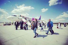 Pierwszy lot na nowej trasie Dortmund - Olsztyn-Mazury - Dortmund Zapraszamy do korzystania z połączenia :) ✈️ #latamzmazur#mazuryairport#Dortmund#wizzair