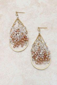 Swarovski Crystal Aspen Earrrings