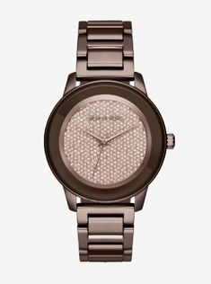 Kinley Pavé Sable Watch STORE STYLE    MK6245 Michael Kors Watch, Michael  Kors Stores 48af9152bb