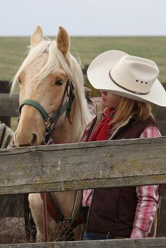 ``♥`` A girl and her horse ``♥``