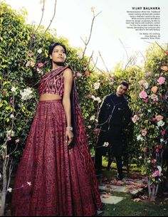 Harpers Bazaar Bride India February 2016 feature on Me and my collection Balhara Bride