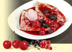 "Ruedesheim Fruit pot or ""Ruedesheimer Fruechtetopf"" is an original recipe from the house Asbach in Germany. Source: http://mybestgermanrecipes.com/"
