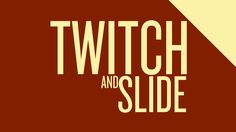Twitch and Slide Motion - Adobe After Effects tutorial