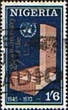 Nigeria 1970 SG 247 United Nations Fine Used Scott 242 Other African Stamps HERE