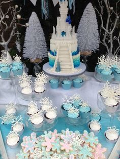 Frozen Birthday Party Ideas | Photo 26 of 117 | Catch My Party