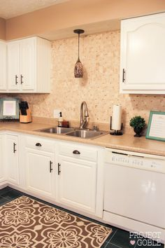 another beautiful kitchen redo thanks to rust-oleum cabinet