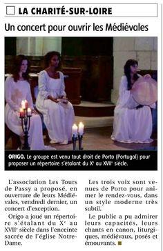 Concert Review Origo #medieval #vocal #ensemble