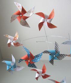 Tangerine Dream pinwheel mobile