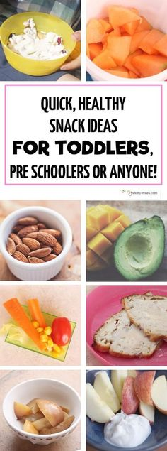 Easy Healthy Snacks that your Kids will Love