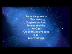 Overwhelmed by Big Daddy Weave lyrics this has been my anthem lately. overwhelmed with so much of God's love and his peoples love its been amazing and I am so blessed. Praise And Worship Music, Praise Songs, Worship Songs, Sing To Me, Me Me Me Song, Lucas 17, Contemporary Christian Music, Then Sings My Soul, Christian Music Videos