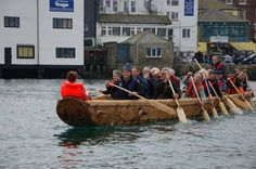 It didn't sink! Full-size, sewn-together replica of a Bronze Age boat launched to trials success