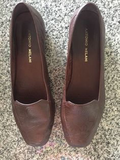 bc1f7ab76dd Antonio Melani Shoe Loafer oxford empire Brown nutty swirl flowers 8 great  cond  fashion  clothing  shoes  accessories  womensshoes  flats (ebay link)
