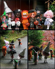 FUN TIME ! PICK a Blythe doll that you would be for HALLOWEEN !  Click on Via Donna Ross bottom right of pin. She has a Blythe Halloween board pick & pin on this board !  There are many , but you can do your own search !! Have fun !!!
