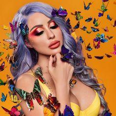 Eyeshadow Looks, Eyeshadow Makeup, Makeup Inspo, Makeup Inspiration, Dandelion Yellow, Asian Eye Makeup, Asian Eyes, Beauty Industry, Korean Beauty