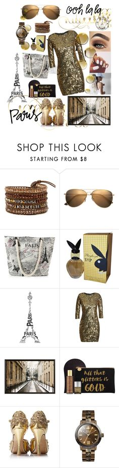 """""""Going to Paris!!"""" by ericjen8685 ❤ liked on Polyvore featuring H&M, Playboy, TFNC, Pottery Barn, St. Tropez and Vivienne Westwood"""
