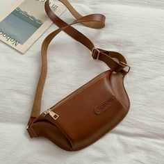 Женские сумки на каждый день, Женская поясная сумка для улицы, поясная сумка из искусственной кожи, нагрудная сумка для путешествий, спортивная сумка на пояс для телефона, сумка banana femme - AliExpress Leather Fanny Pack, Leather Belt Bag, Leather Bag, Waist Pack, Leather Projects, Casual Bags, Luggage Bags, Retro, Messenger Bag