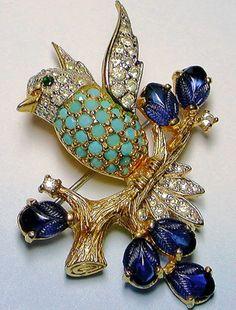 Jomaz Bird Brooch