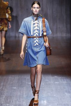 The Top 10 Trends of Spring 2015: The Ultimate Fashion Week Cheat Sheet | Gucci - Photo: Marcus Tondo / Indigitalimages.com