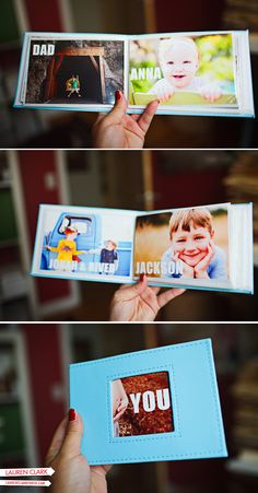 I did something similar for Lily ... she loves to look at pics of the special people and animals in her life ... hehe!!