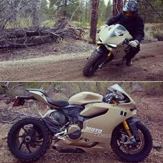 Off-road Ducati... Umm... YES PLEASE