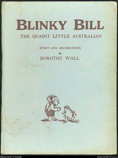 Blinky Bill, the quaint little Australian. . - Front Cover