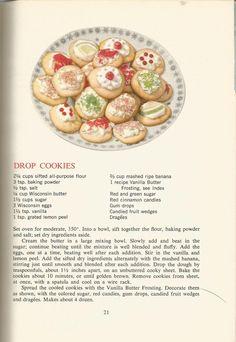 Vintage Recipes 1964: Cakes, Cookies, Frostings