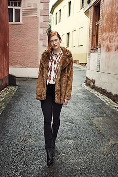 Selected Femme Teddy Coat