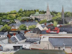 Gallery: Scenes - Paint for Me House Painting, Cathedral, Ireland, Scene, Mansions, Landscape, Architecture, House Styles, North West