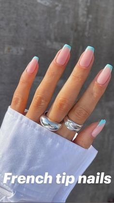 French Acrylic Nails, Acrylic Nails Coffin Short, Simple Acrylic Nails, Best Acrylic Nails, French Nails, Acrylic Nails Designs Short, Best Nails, Short French Tip Nails, Natural Looking Acrylic Nails