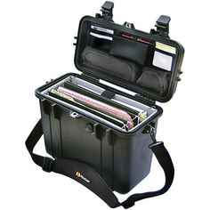 Pelican 1437 Top-Loader Protector Case(Tm) With Padded Office Divider Set & Lid Organizer Office Dividers, Office Partitions, Lid Organizer, Mobile Office, Ideas Geniales, Electronic Gifts, Electronics Gadgets, Tool Storage, Camcorder