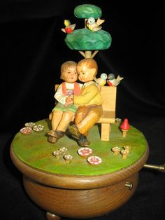 Love Story Anri Music Box Thorens  Swiss by elodiesmelodies, $150.00