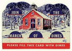 At school, we were given cardboard collection cards to put dime donations in for The March of Dimes. and dimes were real silver back then! Great Memories, Childhood Memories, March Of Dimes, Back In My Day, Photo Vintage, Baby Boomer, Vintage School, I Remember When, The Good Old Days