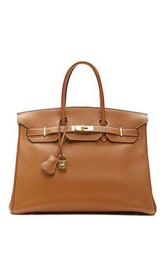 02a84b9d72c Vintage Hermes 35Cm Gold Clemence Leather Birkin Hermes Bags, Hermes Birkin,  Luxury Handbags,