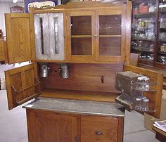 I Want A Hoosier Style Cabinet In My Kitchen This Ones Wilson