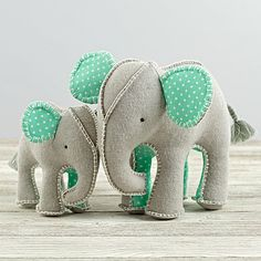 Unforgettable Elephants (Set of 2) | The Land of Nod
